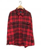 OLD GAP(オールドギャップ)の古着「90'sヴィンテージネルシャツ」|レッド