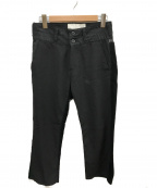 GANRYU(ガンリュウ)の古着「サイドコーデュロイ切替パンツ」 ブラック