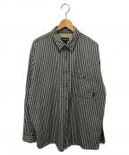 Patagonia()の古着「ヴィンテージチェックシャツ」|ベージュ×ネイビー