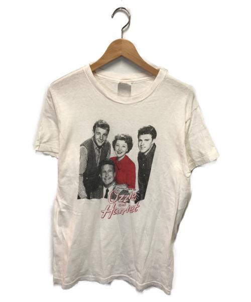 VINTAGE(ヴィンテージ/ビンテージ)VINTAGE (ヴィンテージ/ビンテージ) 80'sヴィンテージプリントTシャツ ホワイト サイズ:Lの古着・服飾アイテム