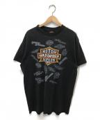 VINTAGE(ヴィンテージ)の古着「[古着]プリントTシャツ」|ブラック