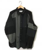 AMBUSH(アンブッシュ)の古着「パッチワークシャツ」 ブラック