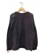 ()の古着「ヴィンテージクルーネックスウェット」|パープル