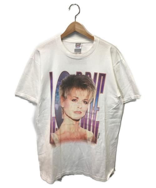 VINTAGE(ヴィンテージ/ビンテージ)VINTAGE (ヴィンテージ/ビンテージ) 90sヴィンテージプリントTシャツ ホワイト サイズ:Lの古着・服飾アイテム