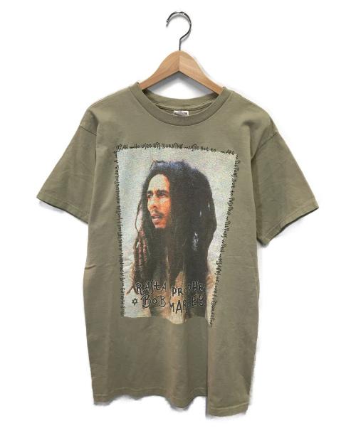 VINTAGE(ヴィンテージ/ビンテージ)VINTAGE (ヴィンテージ/ビンテージ) 90sヴィンテージプリントTシャツ ベージュ サイズ:Lの古着・服飾アイテム