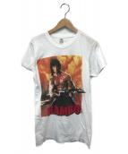 ()の古着「80sヴィンテージムービーTシャツ」|ホワイト