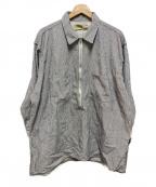 YSTRDYS TMRRW(イエスタディズトゥモロー)の古着「プルオーバーシャツ」 グレー
