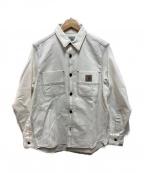 Carhartt WIP(カーハートダブリューアイピー)の古着「チョークシャツ」 ホワイト