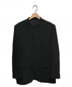 ISSEY MIYAKE MEN()の古着「マオカラーウールジャケット」|グレー