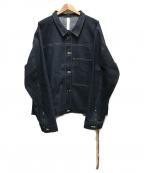 SHINYA KOZUKA(シンヤコズカ)の古着「デニムジャケット」|インディゴ