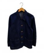 KURO(クロ)の古着「デニムカバーオールジャケット」|インディゴ