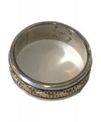 Indian jewellery(インディアンジュエリー)の古着「K14リング」|シルバー