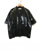 DISCOVERED(ディスカバード)の古着「PVC半袖シャツ」|ブラック