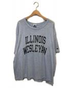 ()の古着「90'sヴィンテージプリントTシャツ」|スカイブルー