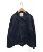 MHL × CANTON(エムエイチエル × キャントン)の古着「カバーオールデニムジャケット」|インディゴ