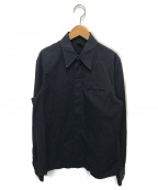 Jean Paul Gaultier homme(ジャンポールゴルチェオム)の古着「長袖シャツ」 ブラック