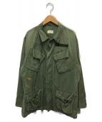 US ARMY(ユーエスアーミー)の古着「60'sヴィンテージ3rdジャングルファティーグジャケット」|オリーブ
