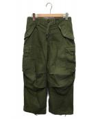US ARMY(ユーエスアーミー)の古着「70'sヴィンテージM65フィールドカーゴパンツ」|オリーブ