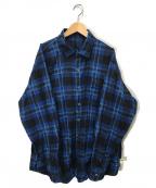 SSZ(エスエスゼット)の古着「ニールシャツ」|ネイビー