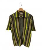 CMMN SWDN(コモン スウェーデン)の古着「ニットシャツ」|イエロー