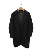 tricot COMME des GARCONS(トリココムデギャルソン)の古着「ウールチェスターコート」|ブラック