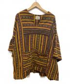 WOOLRICH(ウールリッチ)の古着「70sヴィンテージウールプルオーバー」|ベージュ