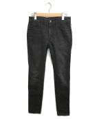 CELINE()の古着「スキニーパンツ」|ブラック