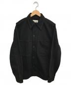 LEMAIRE(ルメール)の古着「デニムトラッカージャケット」 ブラック