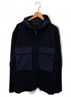 CANADA GOOSE()の古着「エルジンフルジップセーター」|ネイビー