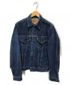 LEVIS()の古着「70sヴィンテージ4thトラッカーデニムジャケット」|インディゴ