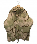 US ARMY()の古着「エクストラコールドウェザーゴアテックスジャケット」|ベージュ