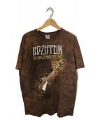 ()の古着「90'sヴィンテージプリントTシャツ」|ブラウン
