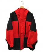 NIKE ACG(ナイキエージーシー)の古着「90'Sストームフィットマウンテンパーカー」 レッド×ブラック