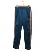 Needles(ニードルズ)の古着「ナロートラックパンツポリスムース」 ブルー×ピンク