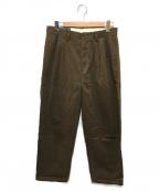 POLO RALPH LAUREN(ポロ・ラルフローレン)の古着「2タックパンツ」|ブラウン