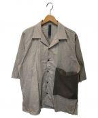 SHINYA KOZUKA(シンヤコズカ)の古着「サマーオープンカラーシャツ」|ベージュ