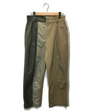 FenG CHen WANG (フェン・チェン・ワン) パネルテッドパンツ ベージュ サイズ:M FS11TRO502 Panelled Pants