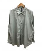 SHINYA KOZUKA(シンヤコズカ)の古着「クラシックシャツ」|グリーン