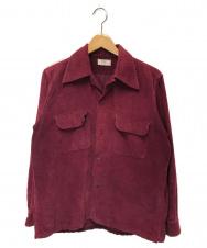 ARROW (アロー) 50'sコーデュロイシャツ レッド サイズ:M