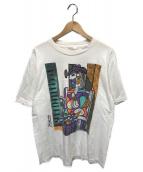 ()の古着「80'sヴィンテージアートTシャツ」 ホワイト