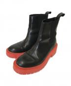 KENZO x H&M(ケンゾー エイチアンドエム)の古着「サイドゴアブーツ」|ブラック