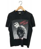 ()の古着「ヴィンテージプリントTシャツ」|ブラック