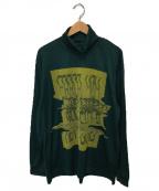 TAAKK(ターク)の古着「ウォッシャブルニットセーター」 グリーン