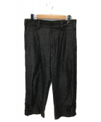 ()の古着「ストラップデニムパンツ」 ブラック