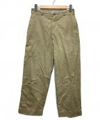 US ARMY(ユーエスアーミー)の古着「60'sヴィンテージチノトラウザー」|ベージュ