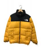 ()の古着「ヌプシジャケット」 イエロー