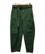 LEMAIRE(ルメール)の古着「デニムパンツ」 グリーン