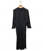 Mame Kurogouchi(マメ クロゴウチ)の古着「コットンジャージードレス」 ブラック