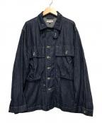 Engineered Garments()の古着「M43シャツジャケット-8オンスデニム」 インディゴ