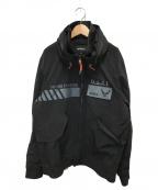 AVIREX(アヴィレックス)の古着「フューチャーコマンド CWUジャケット」 ブラック